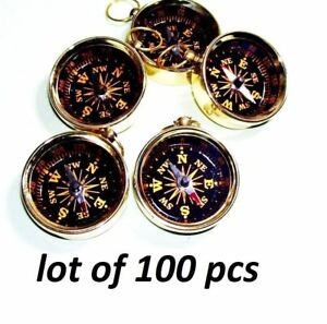Wholesale Lot Of Navigation Nautical Compass Beautiful Compass Pendant Christmas