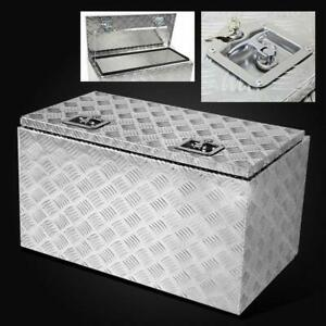 New 30 Aluminum Storage Tool Box Lock Pickup Truck Bed Atv Trailer Underbody