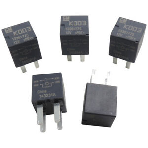 13361775 Relay 5 Pack 4 Pin 12v Ac Delco 13500113