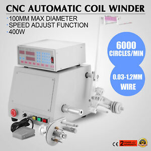 Automatic Coil Winder Cnc 0 03 1 2mm 400w 1 2hp Factory Direct Best Price