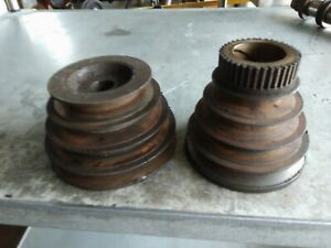 South Bend Lathe Headstock And Countershaft v Belt Pulleys 9 10k