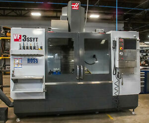 2014 Haas Vf 3ssyt one Of A Kind