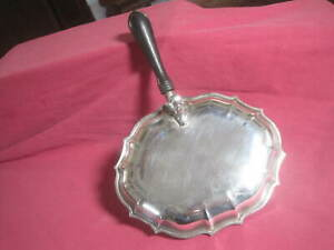 Birmingham Chippendale Silverplate Chafing Warming Dish Server Handle 10 X 7