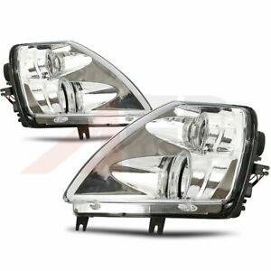 For 2001 05 Mitsubishi Eclipse Halo Projector 2pcs Headlights Chrome Clear Lamp