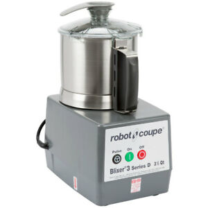 Robot Coupe Blixer 3 Food Processor 3 7 Stainless Steel Bowl Single Phase
