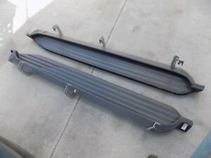 2015 2016 2017 Chevrolet Tahoe Black Running Boards Oem Used