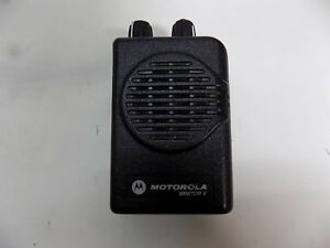 Motorola Minitor V Pager Uhf 470 477 9875 Mhz 1 Channel