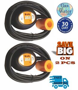 Lot Of 2 Pcs Float Switch Automatic Water Level Sensor Control With10 Ft cable