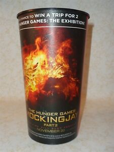 The Hunger Games Mockingjay Part 2 Coca Cola 44oz Plastic Movie Promo Cup