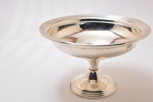 Beautiful Vintage Empire Sterling Silver Compote