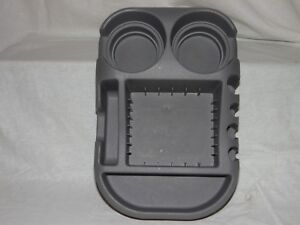 Cup Holder For Car Or Truck Organizers Console With 6 Compartments Grey