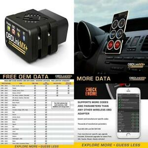 Obdlink Mx Bluetooth Obd2 Scanner Turns Your Iphone Ipad Android Kindle