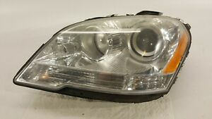 2009 2011 Mercedes Ml350 Headlight Driver Left Halogen Lamp 09 11 Oem