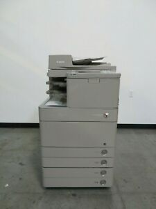 Canon Imagerunner Advance C5240 Color Copier Printer Scanner Only 112k Copies