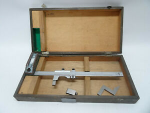 Mitutoyo 10 Height Gauge Vernier Caliper Machining Tools Org Box