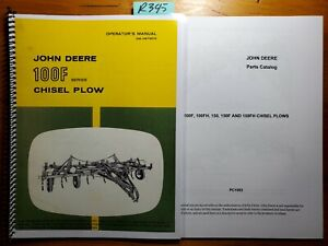 John Deere 100f Series Chisel Plow Owner s Operator s Manual 9 63 Parts 8 69