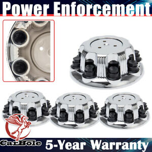 4 For Dodge Ram Truck 16 Chrome 8 Lug Wheel Center Hub Caps Rim Nut Bolt Covers