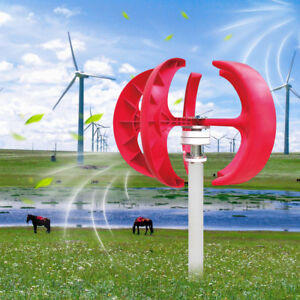 300w 12v Lanterns Wind Turbine Generator Highpower Clean Energy Nylon Fiber