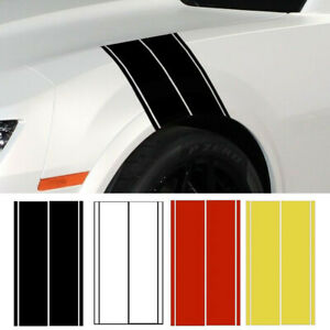 Universal Car Truck Suv Fender Stripe Racing Graphic Decal Sticker Set Cool Hot