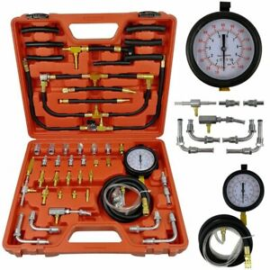 Tu 443 Manometer Fuel Injection Pump Injector Tester Pressure Gauge Kit 0 140psi