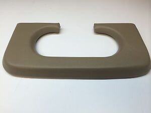 Ford F250 350 Center Console Cup Holder Pad 1999 2010 Medium Parchment Padded