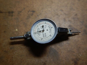 Older Interapid Dial Test Indicator No 310 b2 Machinist Tool Missing Glass