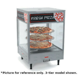 Nemco 6452 Four tier Countertop Pizza Merchandiser With 18 Diameter Racks