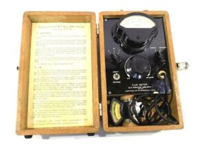 Vintage Military navy M i t marion Mfm 1 Navy Type Ts 15 Ap Flux Meter