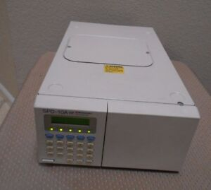 Shimadzu Spd 10a Vp Hplc System Uv Vis Detector Tested Nice Agilent Waters Hp