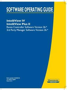 New Holland Intelliview Iv Plus Ii raven Controller V26 3rd Party Manager Opera