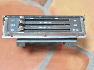 67 72 Chevy Truck Gmc 65 66 Impala A C Heater Control Ac Air Conditioning Nice