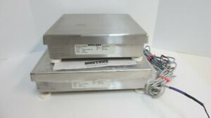 Lot Of 2 Rice Lake Cw 80b Scales