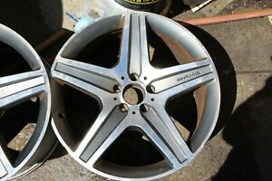 2 Amg Mercedes Rims 20 E Class S Class Cl Class Used No Tires Oem Price For 1