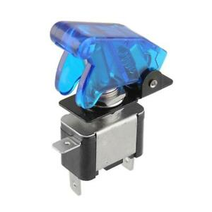 Toggle Switch Maintained 12v 20a Blue Led With Cover