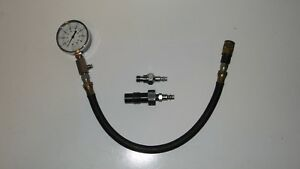 Snap On Diesel Engine Compression Tester Test Gauge W Mercedes Vw Audi Adapter