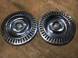 1955 1956 55 56 Chrysler C 300 B Wheel Cover Covers Hub Cap Caps