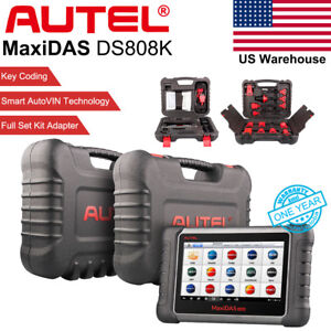 Autel Maxidas Ds808k Obd2 Auto Diagnostic Tool Code Scanner Update Ds708 Epb Us