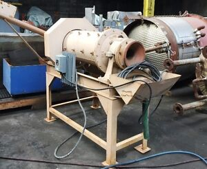 16 Hazen Research Rod Mill 3 Hp On Stand Serial 168225 Item 8604