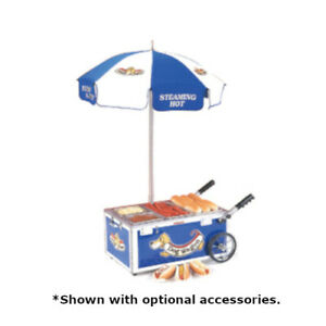 Nemco 6550 dw Mini Countertop Hot Dog Steamer Cart