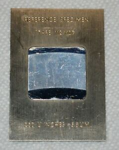 Reference Specimen 230 U Inches 5 8 Um Type 112 1107 Roughness Standard