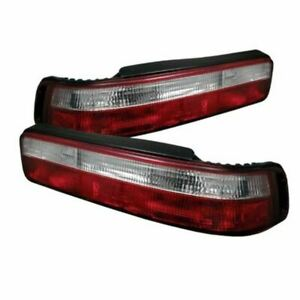 Spyder Led Tail Lights Fits Acura Integra 90 93 2dr