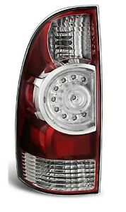 New Led Driver s Side Rear Tail Brake Light Lh For 2009 2015 Toyota Tacoma