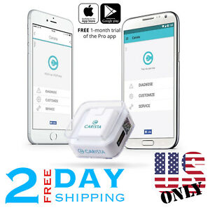 Carista Bluetooth Obd2 Adapter Scanner App For Iphone ipad And Android Us Only