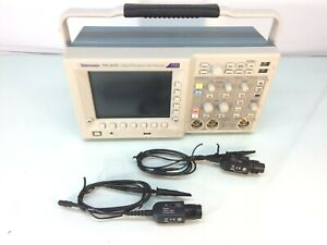 Tektronix Tds3032c Dso Oscilliscope W 2x P6139b Probes Opts Tds3trg tds3fft