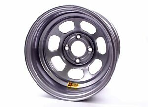 Aero Race Wheels 30 series 13x8 2in Bs 4x4 5 Steel Silver