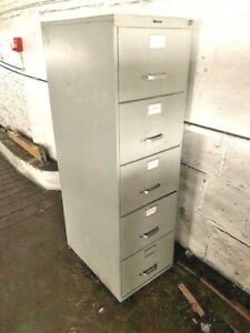 5 drawer Vertical File Cabinets Used very Nice Cabinets