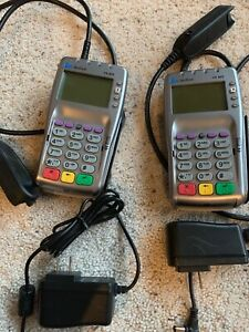 2 Verifone Vx 805 Credit Card Reader Only 2 Months Old Free Shipping