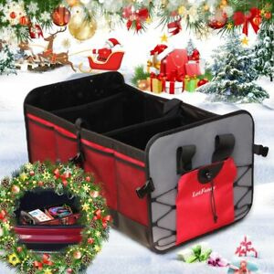 New Car Trunk Organizer Storage With Straps By Drive Auto Products Foldable