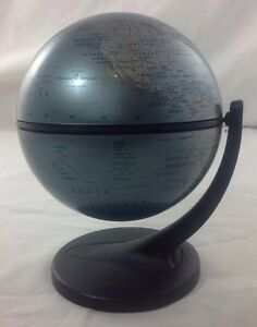 Replogle Diamond Marquise Series 11 Cm Diameter Desk Globe Metallic Home Decor