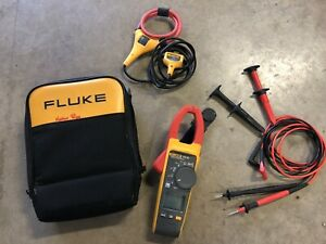 Fluke 375 Fc 600a Ac dc Trms Wireless Clamp With Fluke Connect Preowned
